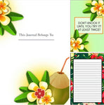 Life Is Tropical Premade Journal Design Template