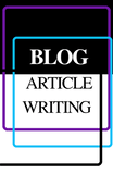 Blog and Article Writing - Books & More by Author B.M. Hardin
