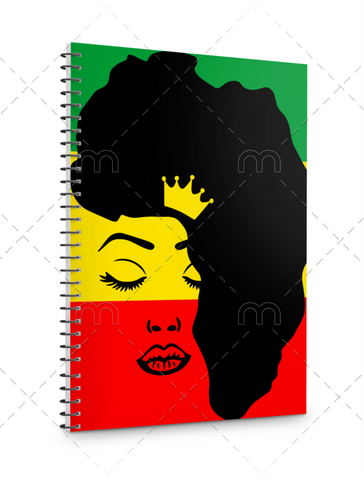 QUEEN PREMADE JOURNAL/PLANNER COVER
