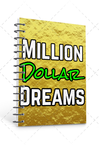 Premade Journal Cover: Million Dollar Dreams