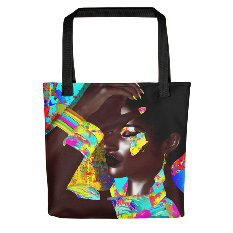 Queenin' Tote bag - Books & More by Author B.M. Hardin