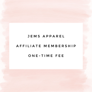 Affiliate Yearly fee Membership