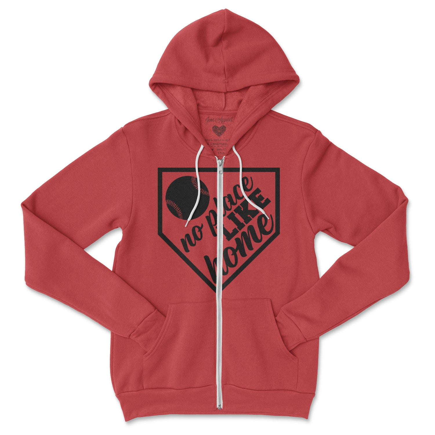 No Place Like Home Zip Hoodie