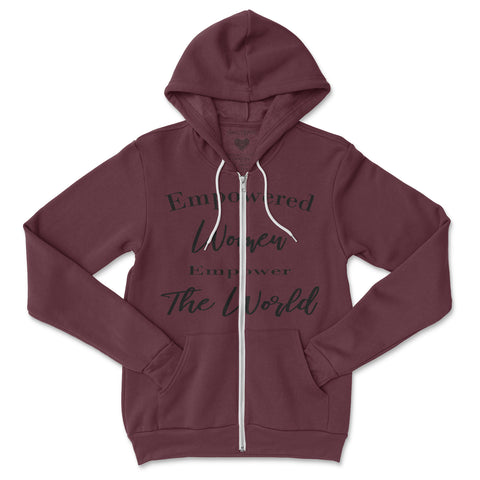 Empowered Women Zip Hoodie