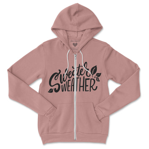 Sweater Weather Zip Hoodie