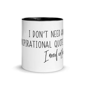 I Need Coffee - Mug