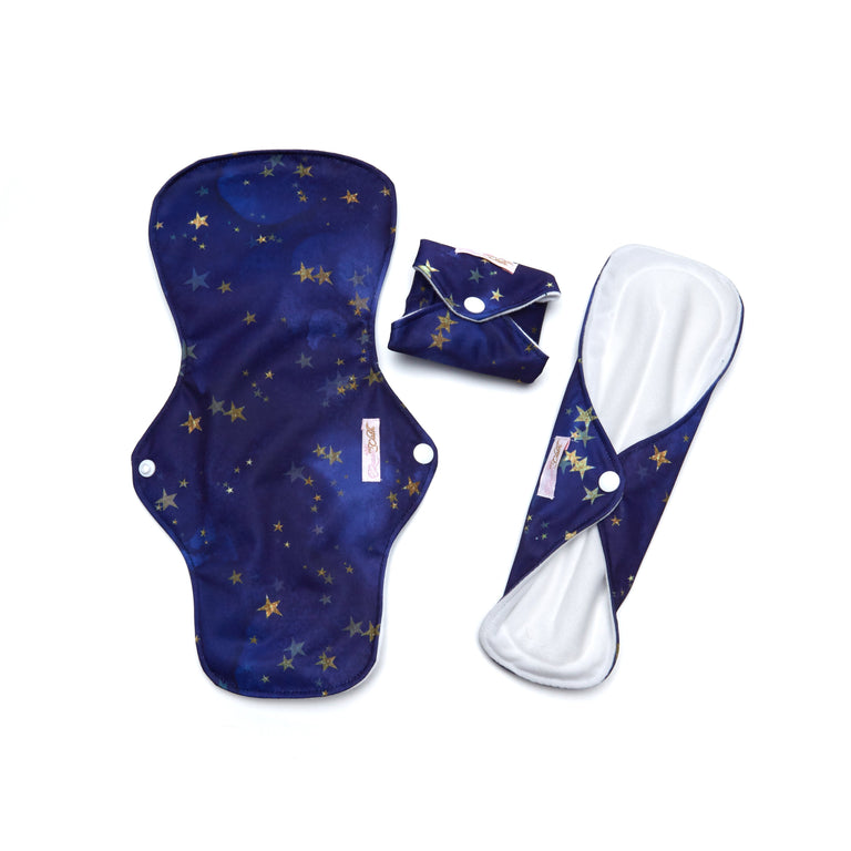 Starry Night Reusable Day Pad - 3 Pack