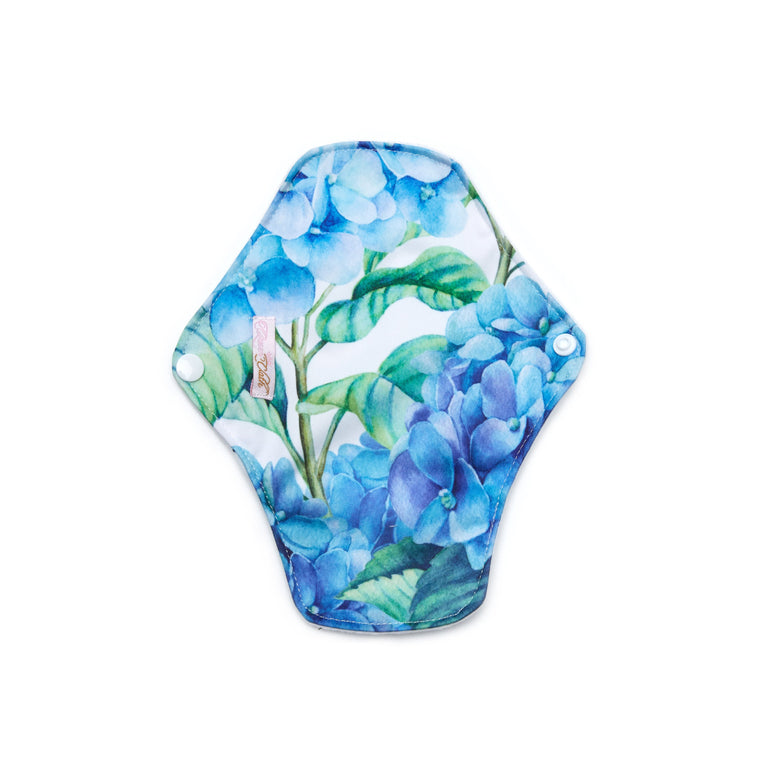 Hydrangea Macrophylla Reusable Panty Liner - Single