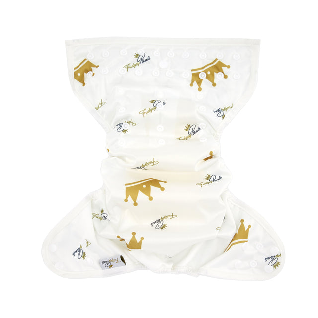 Nappy Shell 3'n'1 Pant - White Prince