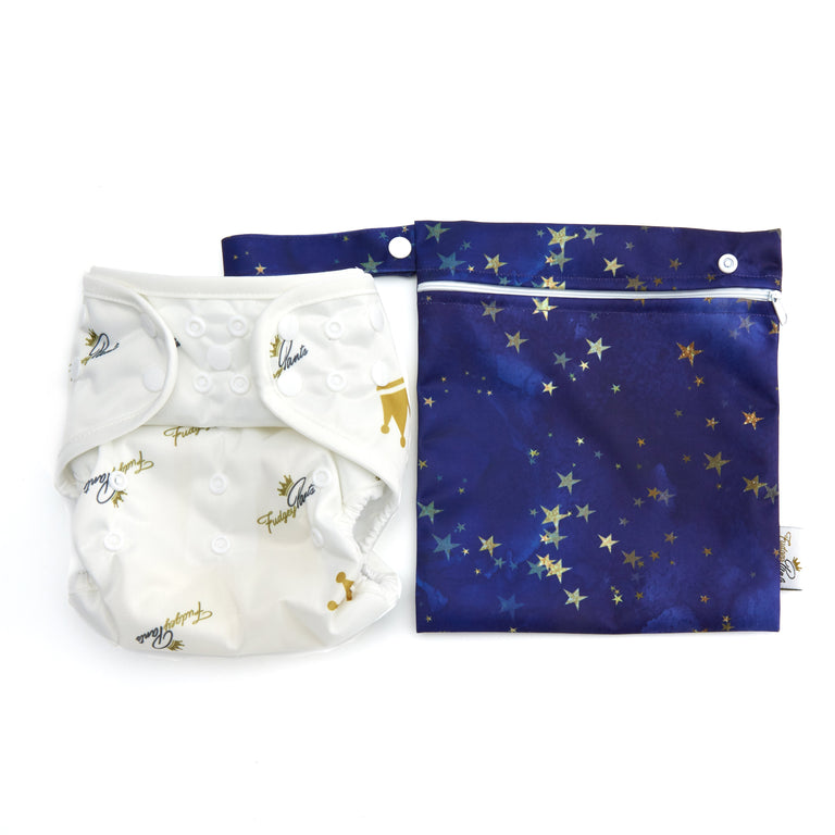 Mini Wet Bag - Starry Night