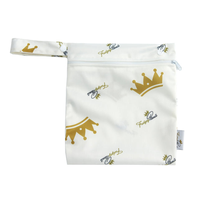 Mini Wet Bag - Cream Prince - Fudgey Pants