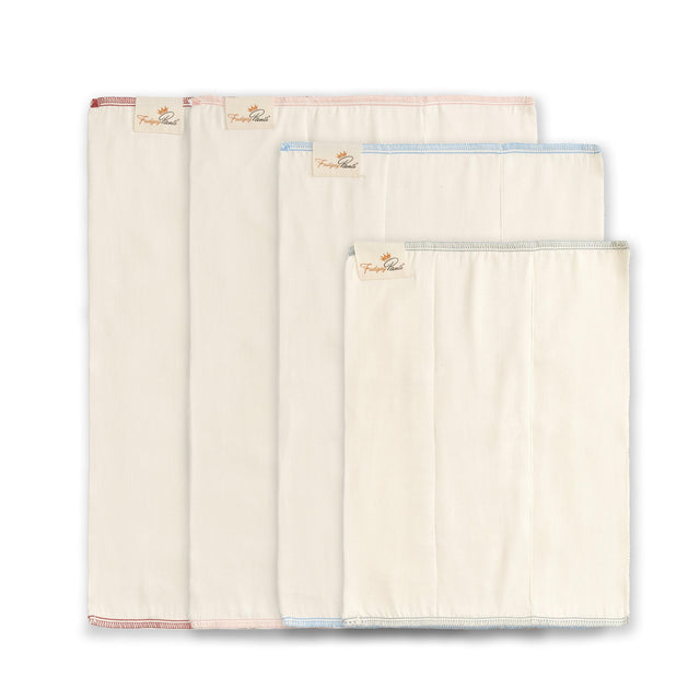 Bamboo and Organic Cotton Prefold - Fudgey Pants