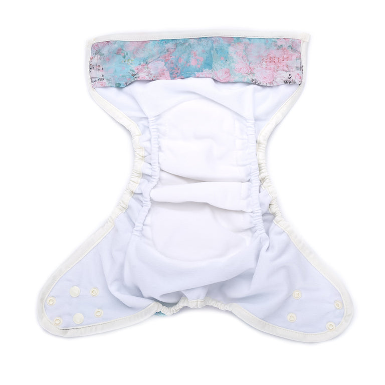 Nappy Shell 3'n'1 Pant - Rose Song