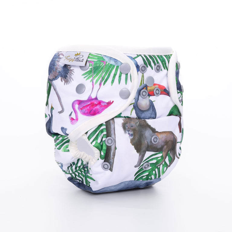 Nappy Shell 3'n'1 Pant - Kingdom Animalia