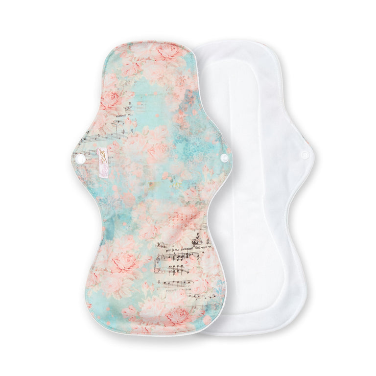 Rose Song Reusable Night Pad - Single - Fudgey Pants