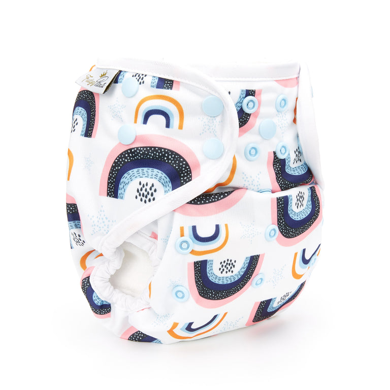 Nappy Shell 3'n'1 Pant - Rainbows