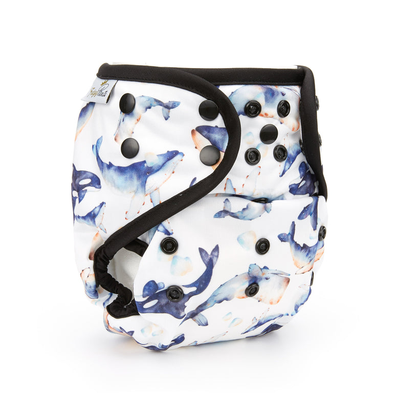 Nappy Shell 3'n'1 Pant - Cetacean