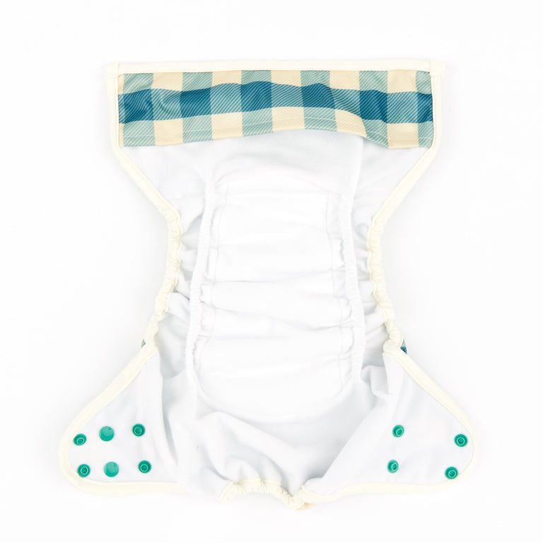 Nappy Shell 3'n'1 Pant - Gingham