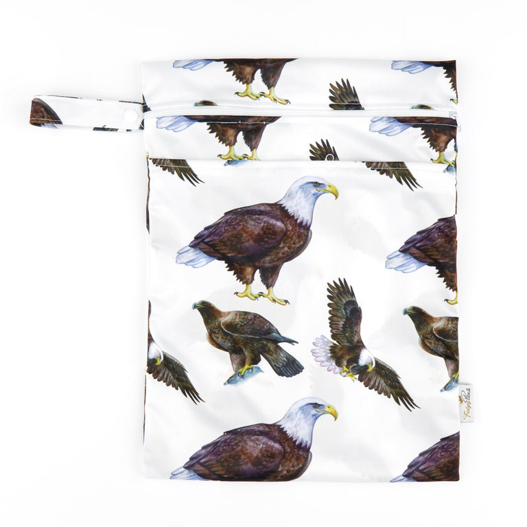 Double Pocket Wet Bag - Bird of Prey