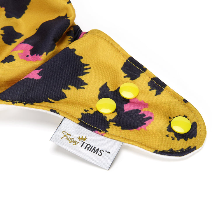 Fudgey TRIMS™ Pocket Nappy - Lemonade Lynx - Fudgey Pants