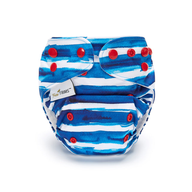 Fudgey TRIMS™ Pocket Nappy - NautiCool - Fudgey Pants