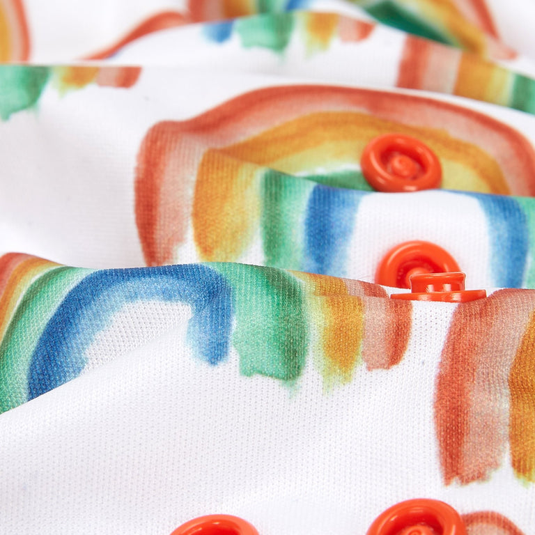 Fudgey TRIMS™ Pocket Nappy - Prismatic - Fudgey Pants