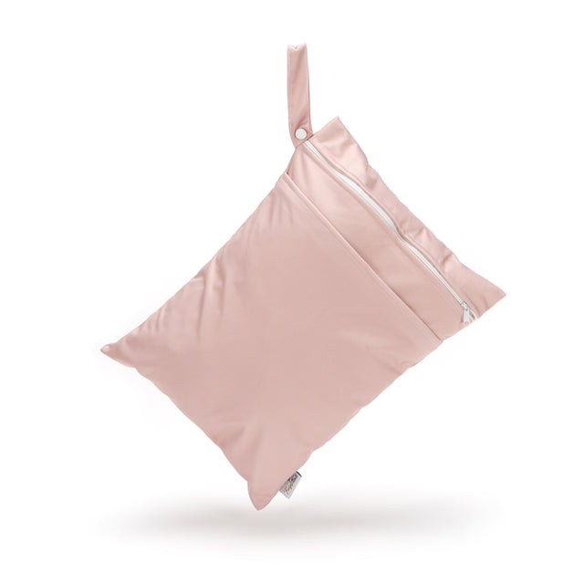 Double Pocket Wet Bag - Dusty Rose - Fudgey Pants