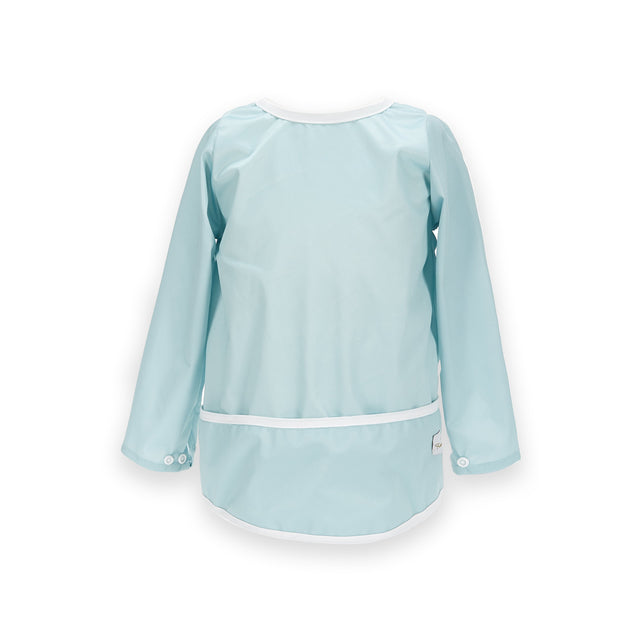 Chalk Blue Sleeved Bib - Fudgey Pants
