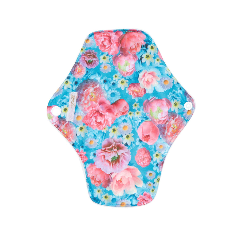Peony Passion Reusable Panty Liner - Single - Fudgey Pants