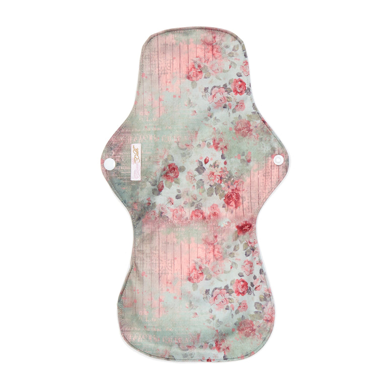 Vintage Rose Reusable Night Pad - Single - Fudgey Pants