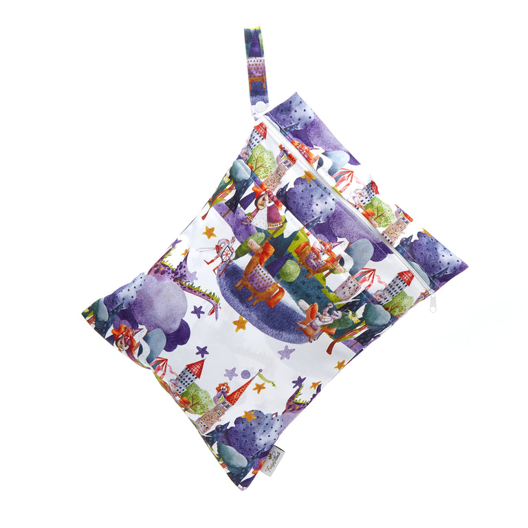 Double Pocket Wet Bag - Once upon a time
