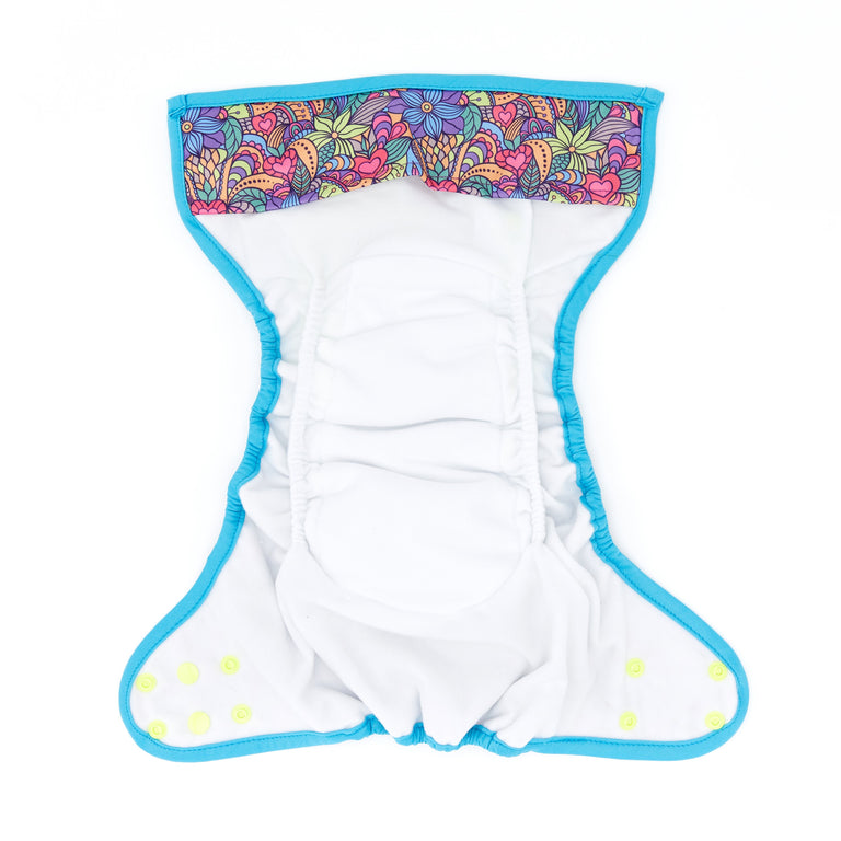 Nappy Shell 3'n'1 Pant - Flower Power
