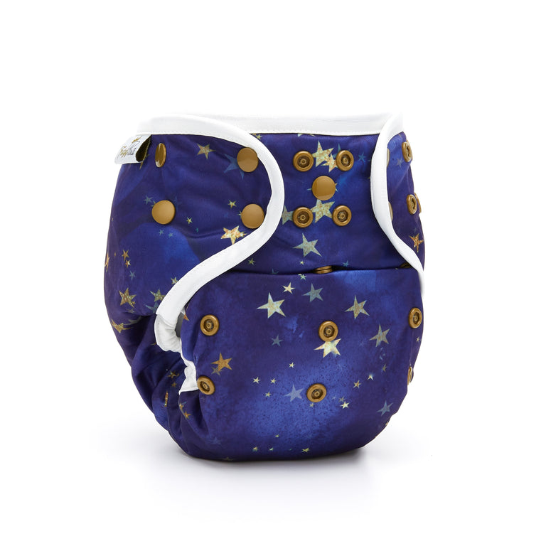 Nappy Shell 3'n'1 Pant - Starry Night - Fudgey Pants