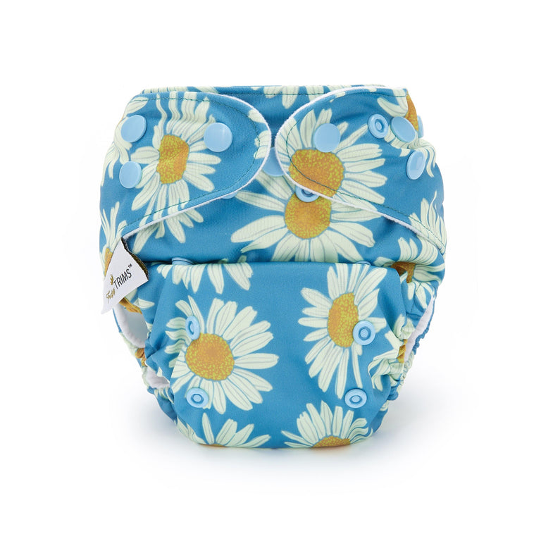 Fudgey TRIMS™ Pocket Nappy - Daisy Field - Fudgey Pants