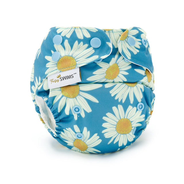 Fudgey SWIMS™ Swim Nappy - Daisy Field - Fudgey Pants