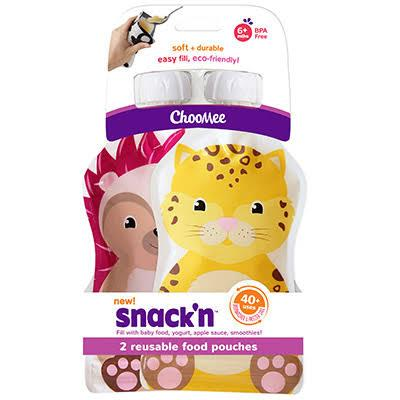 Snack'n Pouch 2-pack - Fudgey Pants