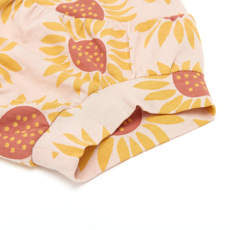 Bamboo & Organic Cotton Kids Underwear Brief - Sunflower