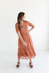 Florence Dress in Mauve