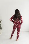 Basic Cotton Long Sleeve  V-Neck Tee's