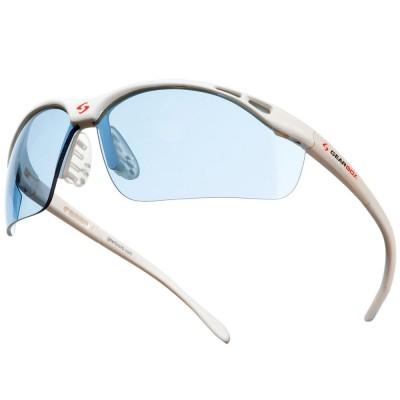 Gearbox Vision SLIM Fit - Blue Lens-White Frame