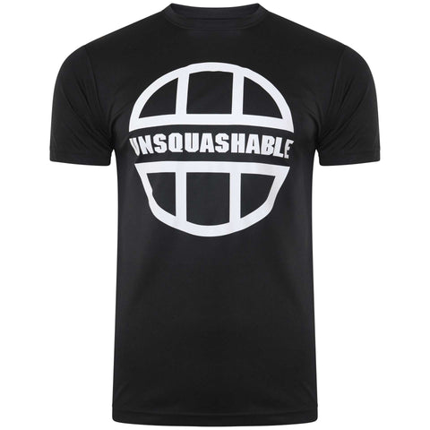 UNSQUASHABLE TRAINING PERFORMANCE T-SHIRT – BLACK
