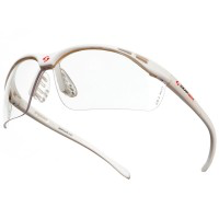 GearBox Vision SLIM Fit - Clear Lens-White Frame