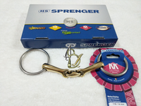 "NEW! Sprenger KK Ultra Bradoon Loose Ring  11.5cm (4 1/2"")"