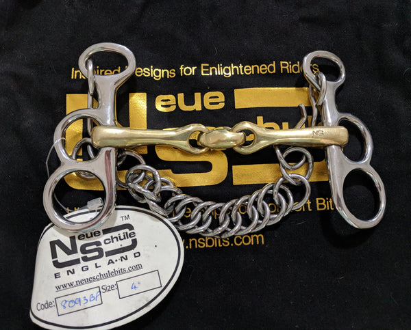 "New! Neue Schule Butterfly Pelham Tranz Angled 10cm (4"")"