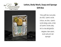 Lotion & Body Wash Gift Set with Sponge - Aegean Sea