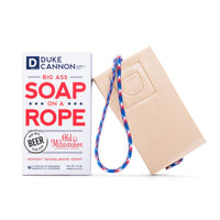 Duke Cannon Big Ass Soap on a Rope - Beer, 10oz.