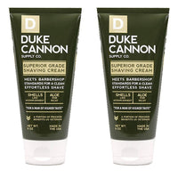 Duke Cannon Shave Cream 6 oz - Superior Grade Men's Shaving Cream (2 Pack)