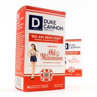 Duke Cannon Beer Soap for Men, 10 oz. in Limited Edition Pin-up Girl Box,1 Pack