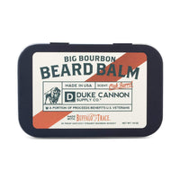 Duke Cannon Big Bourbon Beard Balm, 1.6 ounce - Oak Barrel Scent/Made with Natural and Organic Ingredients/Paraben-Free