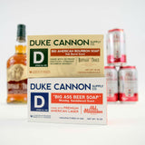 Duke Cannon Big Brick of Soap Set: Bourbon + Beer
